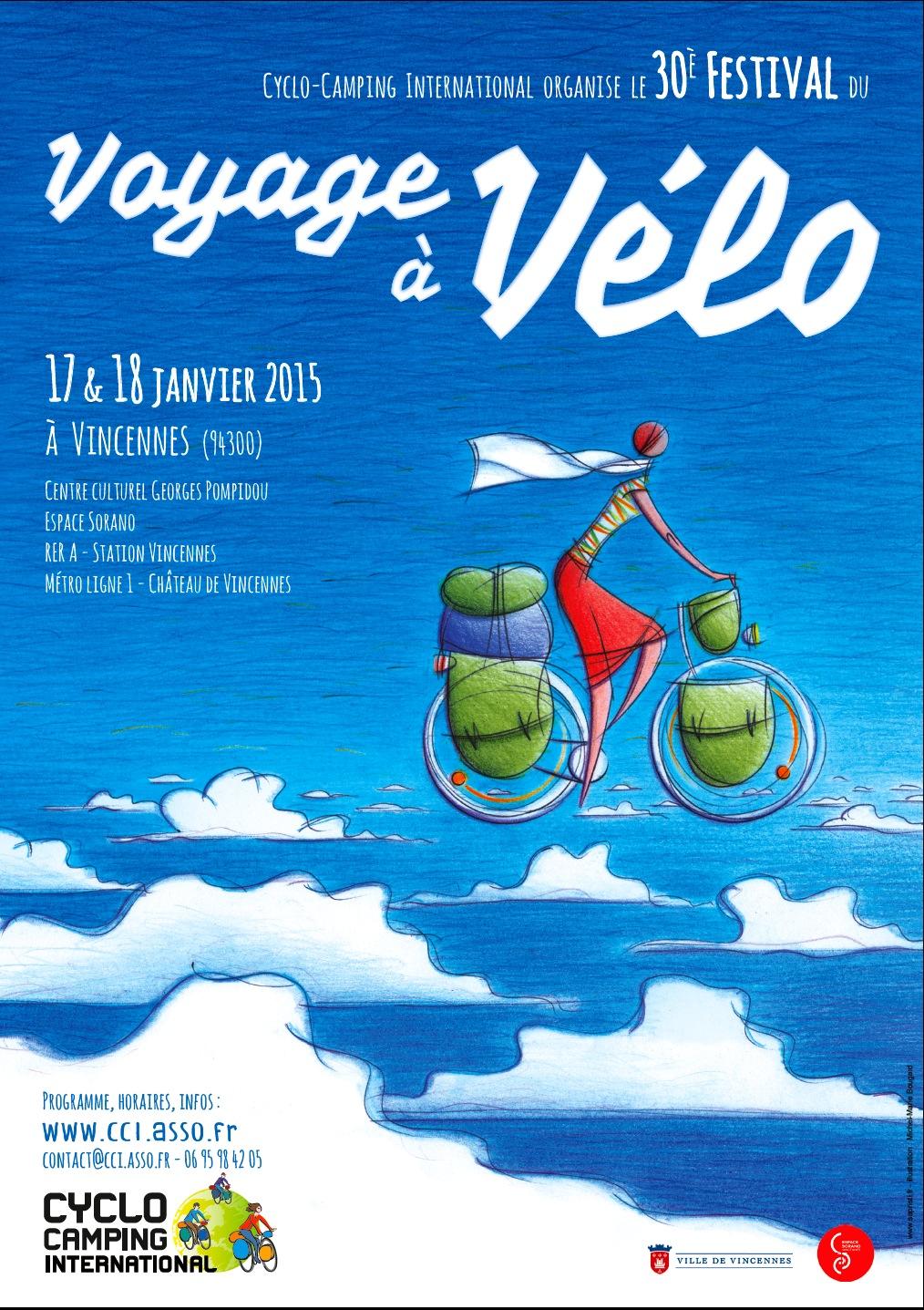 Festival du voyage à vélo 2015