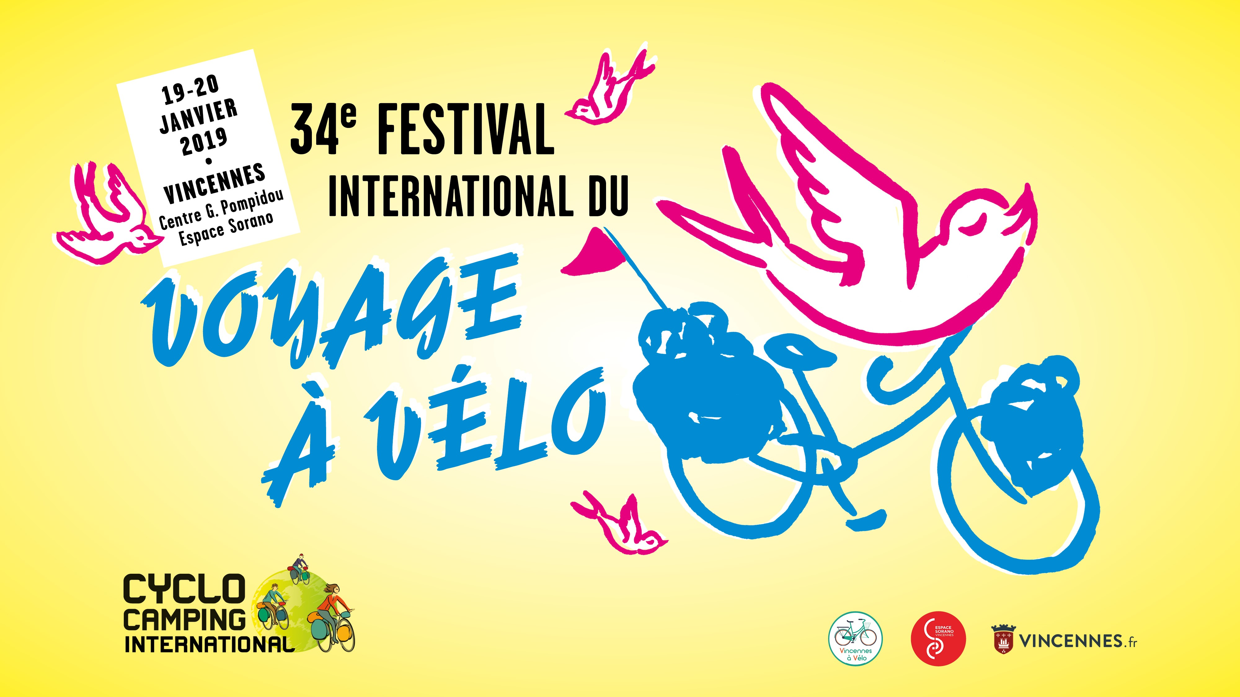 Festival International Voyage vélo 2019