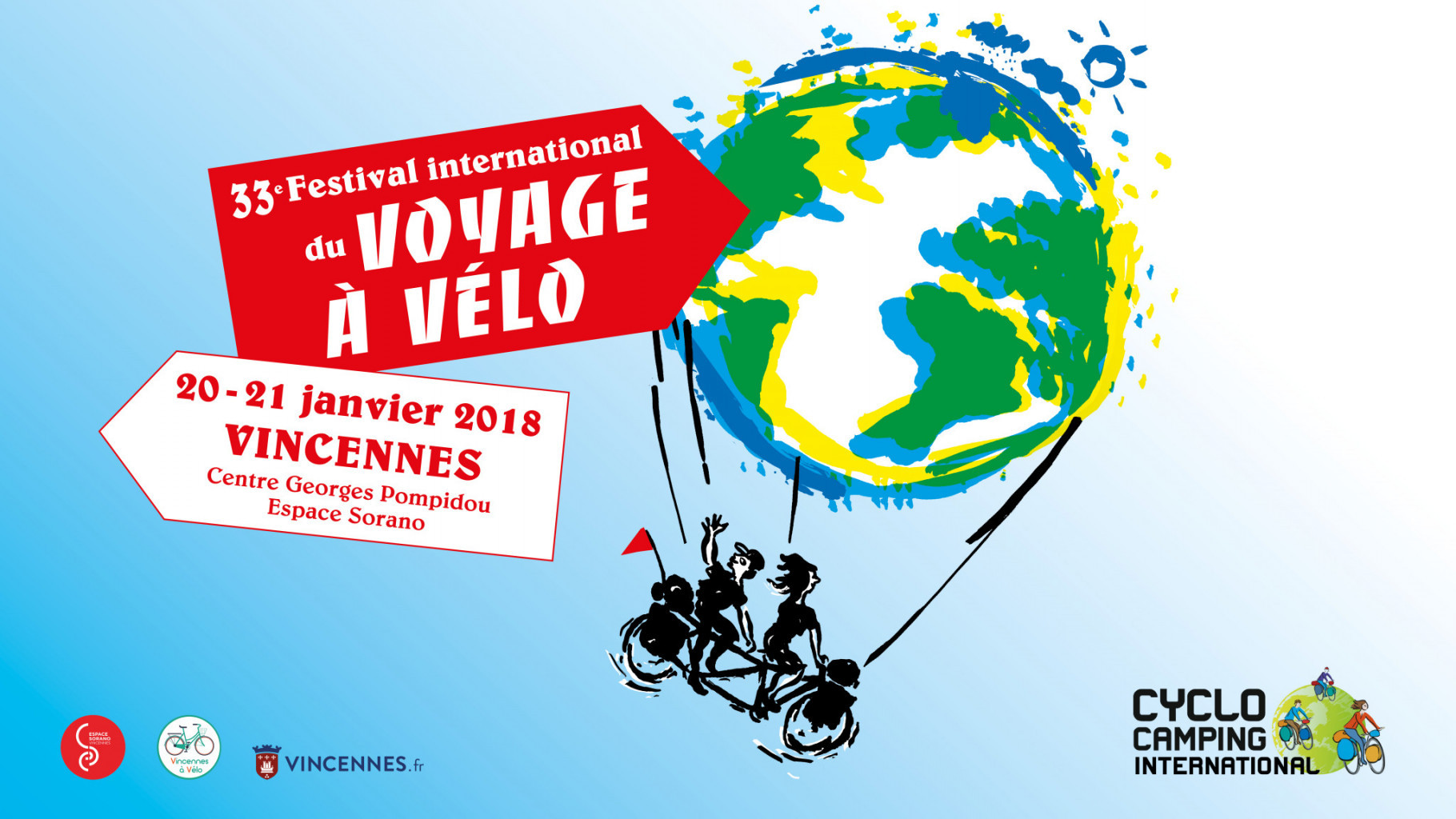 Festival International Voyage vélo